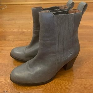 H&M Premium Quality Gray leather boots 39